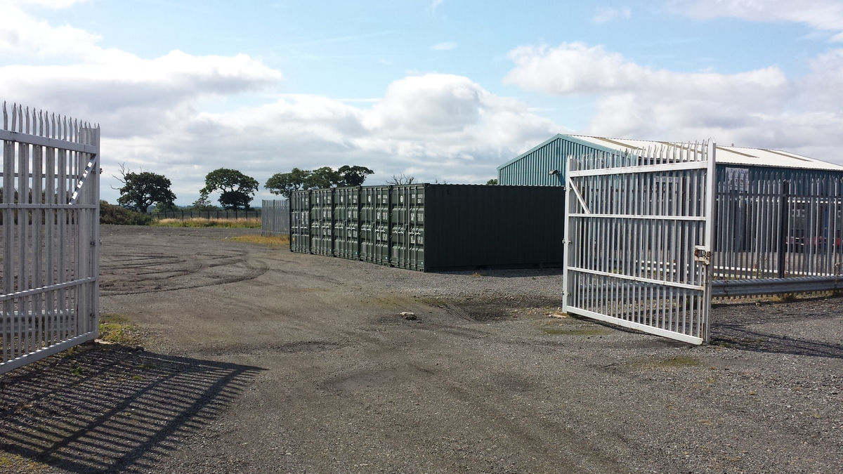 First Storage Containers At Darlington U Hold The Key
